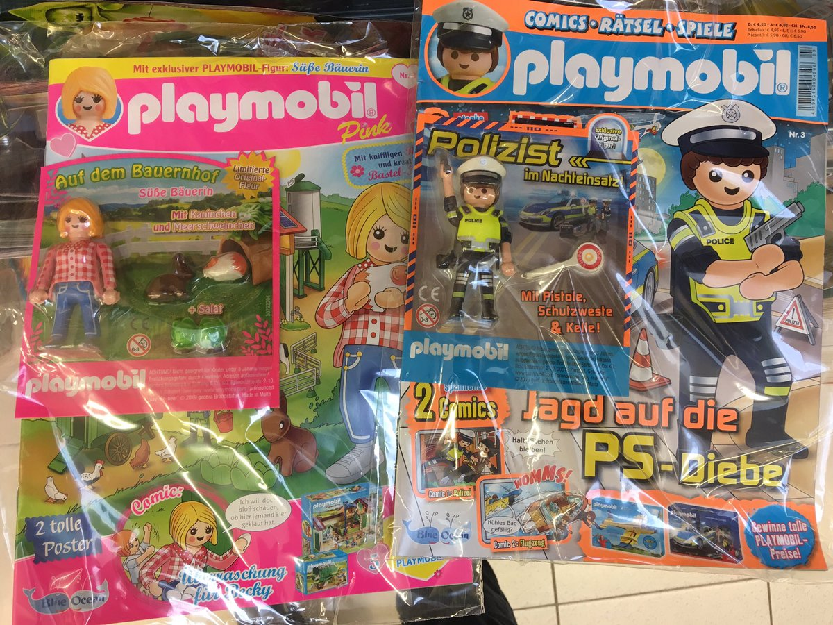playmobil-Zeitschriften