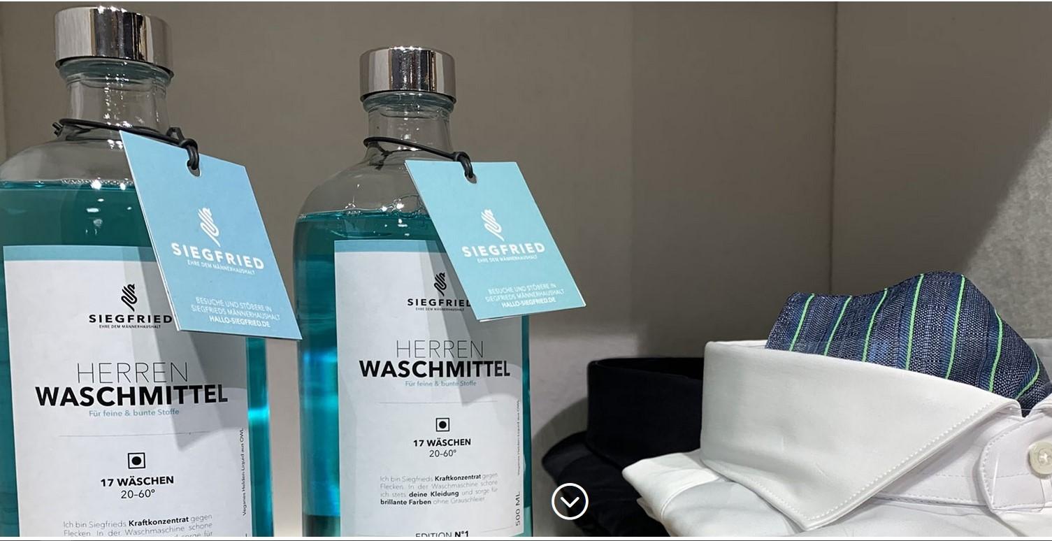 Herren-Waschmittel von Siegfried
