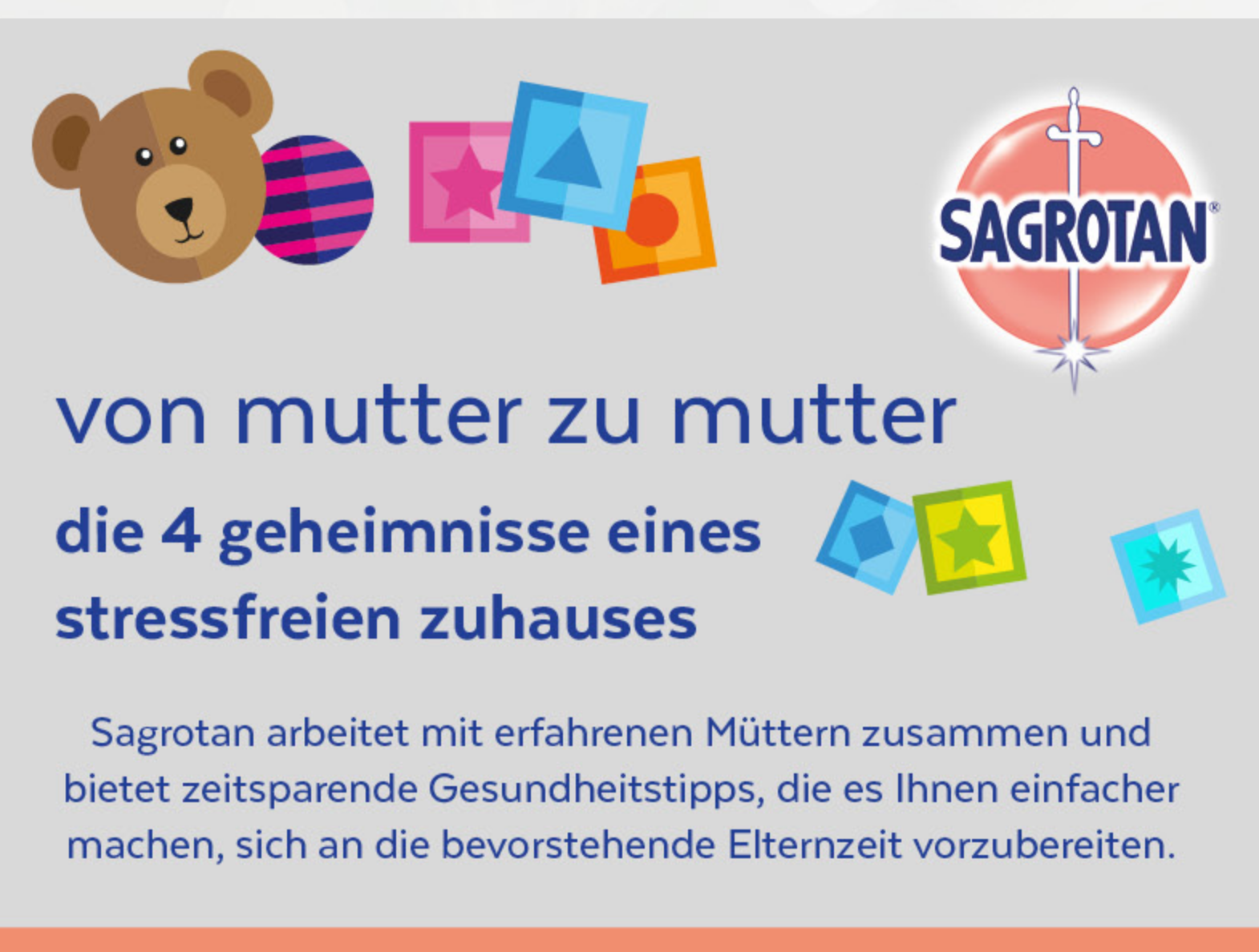 """Sagrotanwerbung """"geheimnisse von mutter zu mutter"""""""