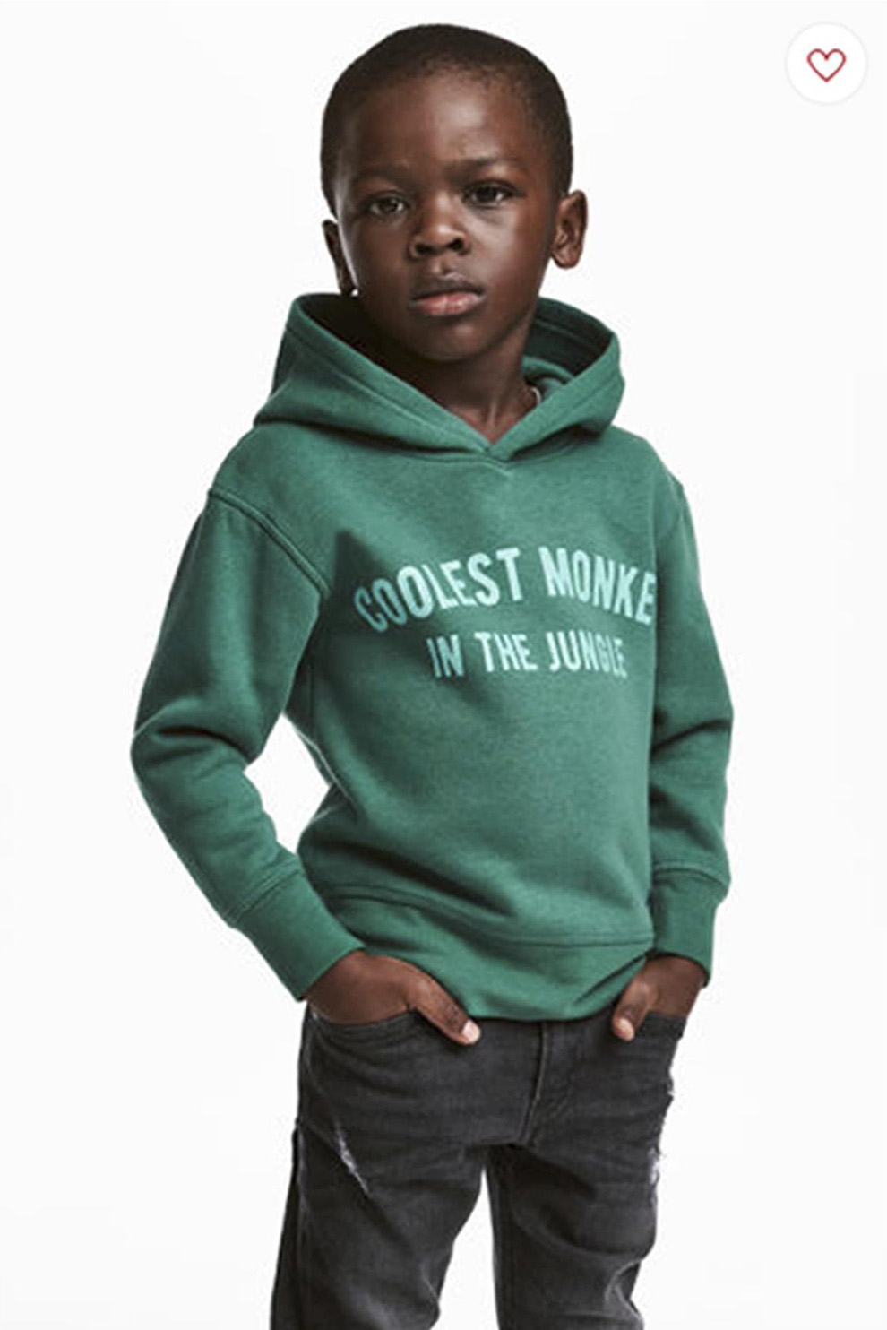 "Rassistische Werbung von H&M ""Coolest monkey in the jungle"""