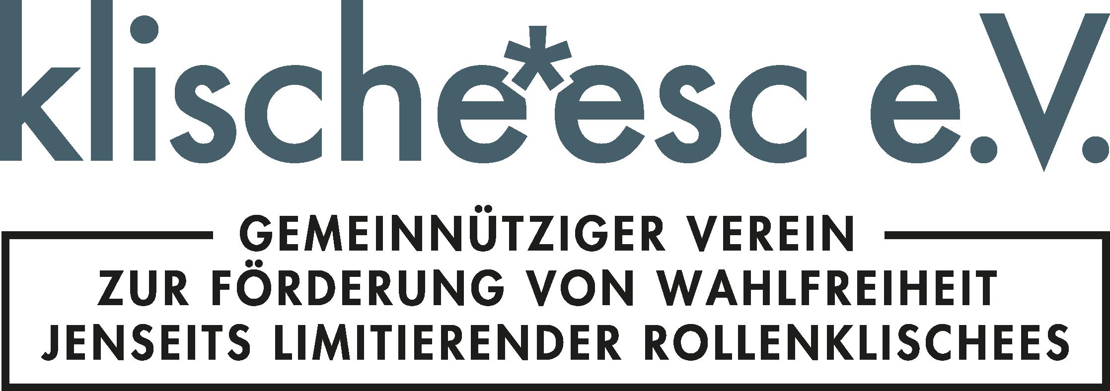 Logo klische*esc e.V.