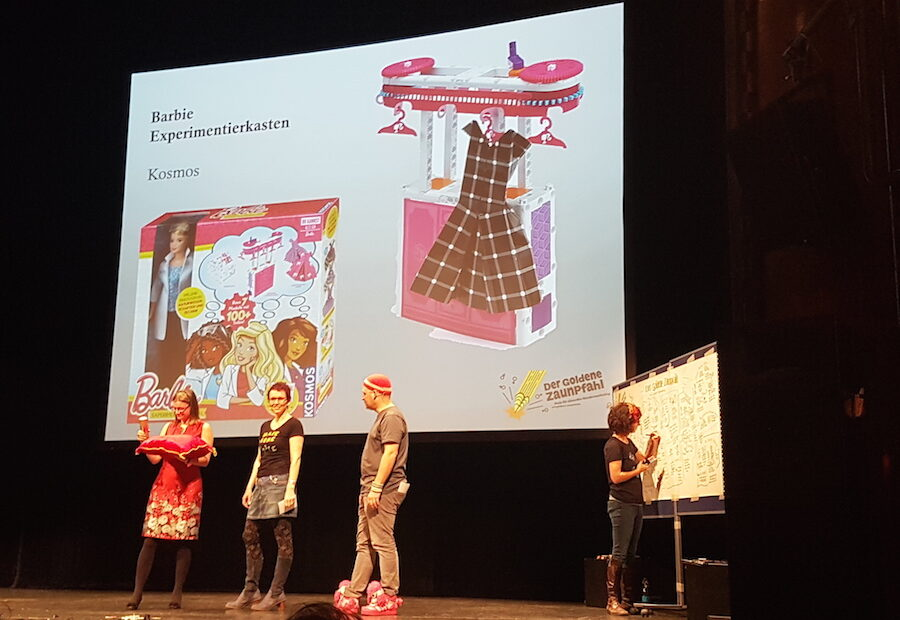Anke Domscheit-Berg, Almut Schnerring, Sascha Verlan und Katrin Faensen (Foto: ClaudiaSprengel)