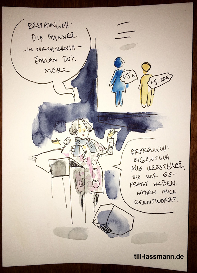 Nathalie Schlenzka (gezeichnet von Till Lassmann)
