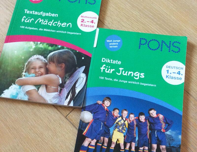 Pons Grüne Reihe, unterschiedliche Ausgaben für Mädchen und Jungen