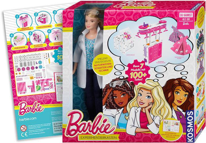 Preisträger 2018: Barbie Experimentierkasten