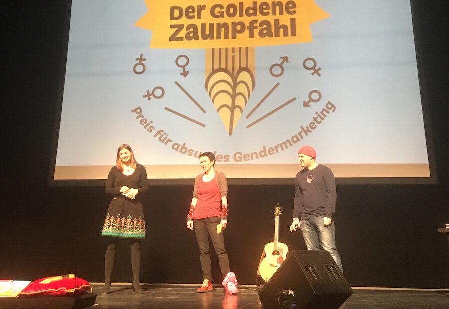 Anke Domscheit-Berg, Almut Schnerring und Sascha Verlan (Foto: Marcus Richter)