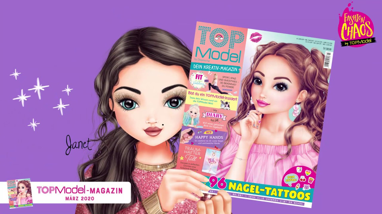 Werbung TopModel Magazin 03/2020