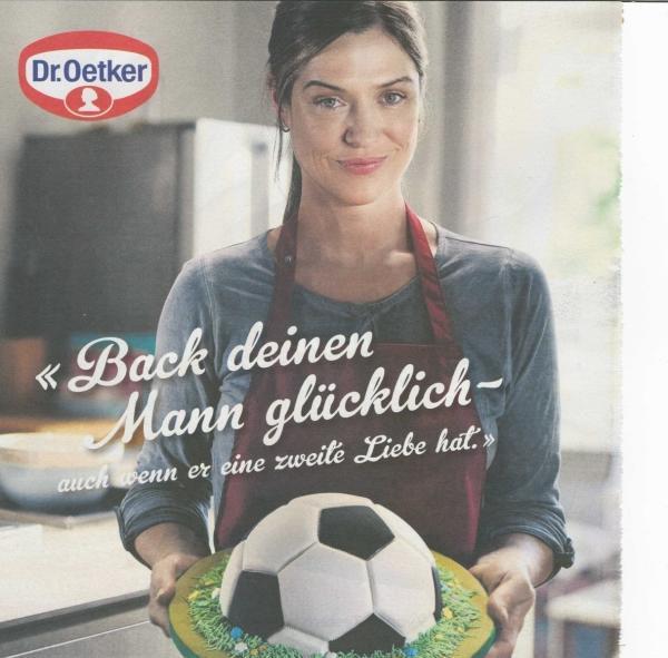 Oetker Backfrau