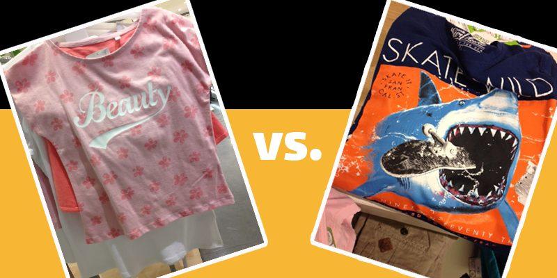 """""""Mädchenshirt"""" vs. """"Jungsshirt"""" - warum nicht einfach Kinderschirts?"""