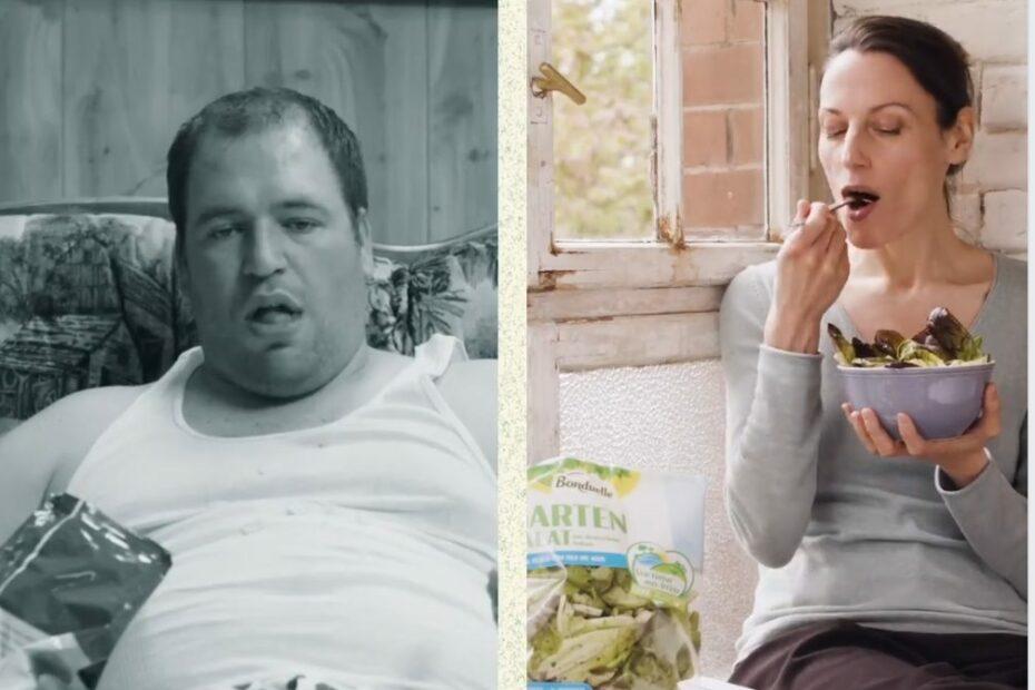 Mann ist Chips, Frau Salat