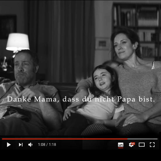 Edeka Werbespot – Papi kriegt nichts gebacken: Das Unfähiger-Vater-Klischee