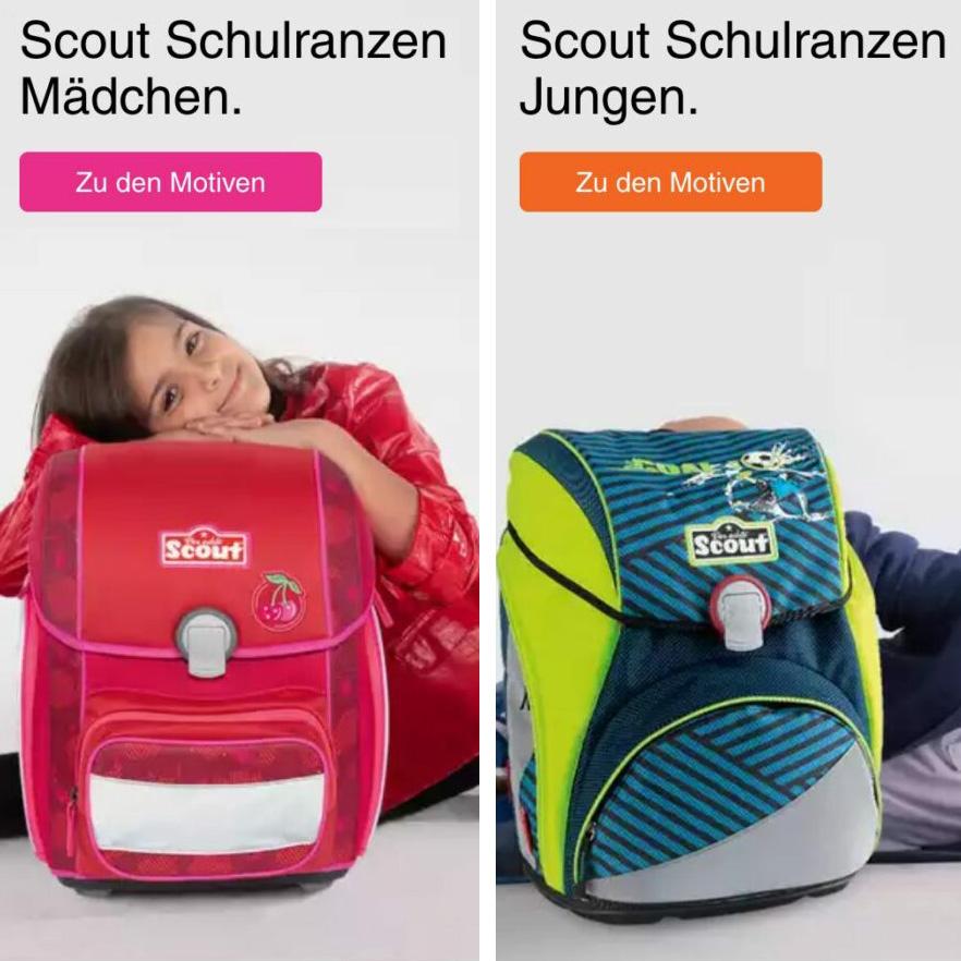 Scout Schulranzen – Schulranzen für Helden und für Hübsche