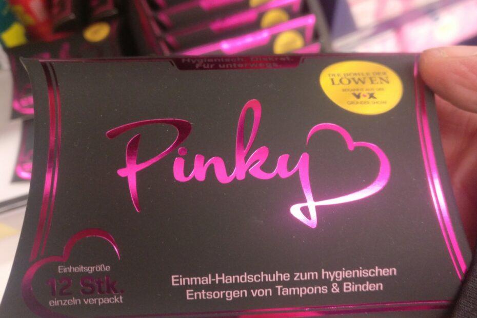 Pinky-Packung in Schwarz und Pink