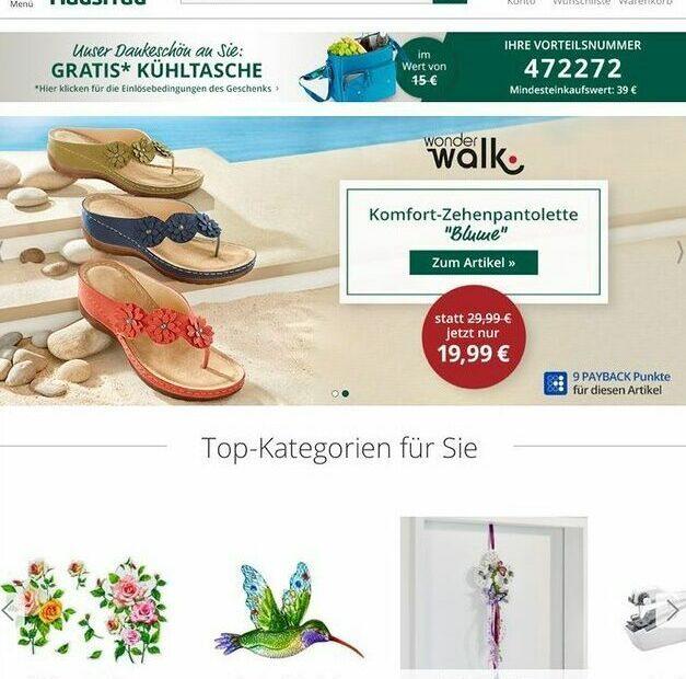 Moderne Hausfrau Online Shop