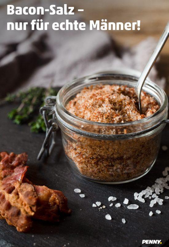 Bacon Salz – nur für echte Männer