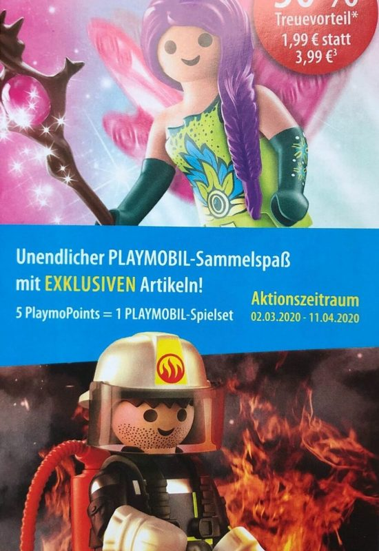 Playmobil-Aktions-Figuren: Fee und Feuerwehrmann