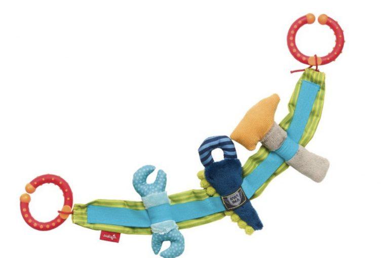 Babyspielkette mit Plüschwerkzeug